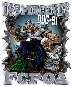 Popeye Tin Can Sailor Shirt Released At Vision-Strike-Wear. The Navy has a new Chief in town with the release of the newest Popeye shirt in the marketplace! Cartoon Books, Cartoon Art, Cartoon Characters, Navy Humor, Navy Memes, Tin Can Sailors, Navy Quotes, Popeye The Sailor Man, Navy Day