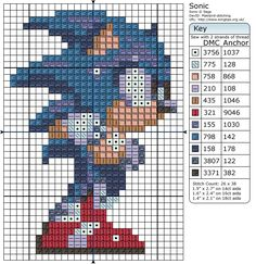 Sonic The Hedgehog » Birdie Stitching