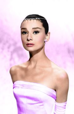 The timelessly beautiful Audrey Hepburn