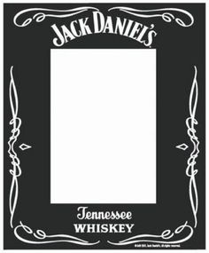 Large photo booth cut out Jack Daniels Party, Jack Daniels Label, Festa Jack Daniels, Jack Daniels Gifts, Jack Daniels Birthday, Gallery Frame Set, 90th Birthday Parties, Birthday Logo, Birthday Ideas