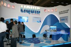 "Liquid Telecom Exhibition Stand I XZIBIT by XZIBIT`S ""EYE LOVE CANDY"", via Flickr"