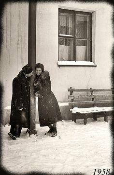 Omsk, USSR, 1958.