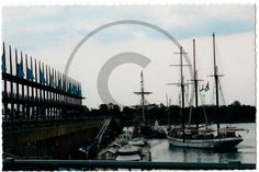 Carte postale de Montréal, Quai Jacques-Cartier – Fête des grands voiliers 2012 | Christie Cartes $2 christiecartes.com