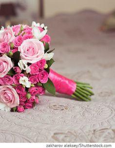 Brautstrauß mit Rosen in pink Bridal Flowers – Wedding Prom Bouquet, Silk Bridal Bouquet, Summer Wedding Bouquets, Bride Bouquets, Pink Rose Bouquet, Wedding Dress, Prom Flowers, Bride Flowers, Wedding Flowers