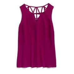 StitchFix: I love a loose flowy tank I can wear with statement jewelry and a cardigan if it gets chilly.