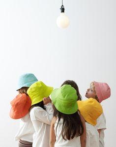 Chapeau pour enfant - Laine-et-Chiffons