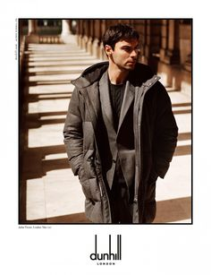 The dunhill Autumn/Winter 2017 campaign featuring Aidan Turner - Aidan Turner Charms in dunhill Autumn/Winter 2017 campaign