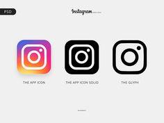 Instagram Logo - Free PSD by Ghenaat