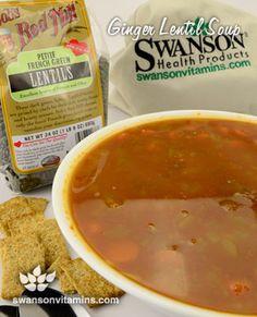 Ginger Lentil Soup | Recipes You'll Love