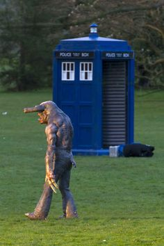 """But we can tell you it doesn't look very friendly or pretty.   Behold, There Is A New """"Doctor Who"""" Monster"""