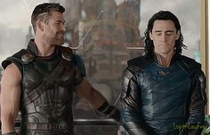 This is a real moment made into something lighthearted with very heavy honest context. Loki really does not want to be separated from his brother Thor he loves him and this is what he's wanted his whole life, but still holding a lot in.