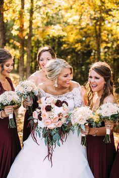 Fall Kentucky Wedding by Love, Chloe Lane - Southern Weddings