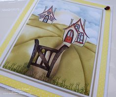 That's Life: Who Lives In A House Like This?? Clarity stamps - quirky house