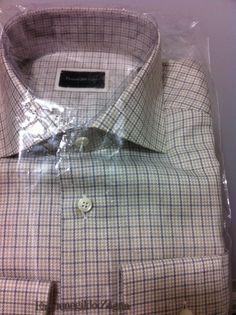 Ermenegildo Zegna Italy luxury beautiful shirt 15.5/39 (M /50/40US fit) NWT$435  #ErmenegildoZegna