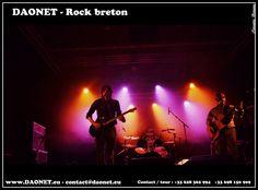 Le groupe Daonet Rock breton dynamique, mélodies rock celtique, nouvelle formule à 4 avec l'arrivée d'un guitariste supplémentaire Fabien qui a rejoint le trio ;-), pour un son encore plus rock, et toujours avec des mélodies rock celtique entrainantes et un chant principalement en langue bretonne ...