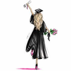 Masters Graduation Pictures Discover Scroll and Roses - Customizable Graduation Gift Fashion Illustration Art Print Graduation Pictures, Graduation Gifts, Graduation Ideas, Graduation Quotes, Art And Illustration, Animal Illustrations, Illustrations Posters, Graduation Drawing, Girly Drawings