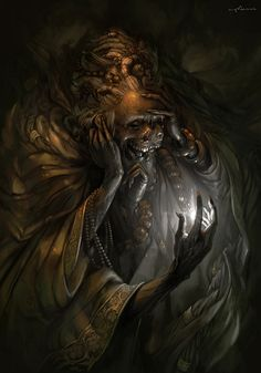 thanatos by apterus | Horror | 2D | CGSociety