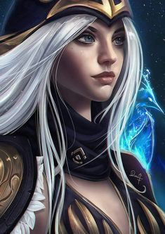 Ashe- League of legends