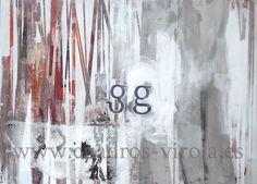 arte abstracto contemporáneo collage