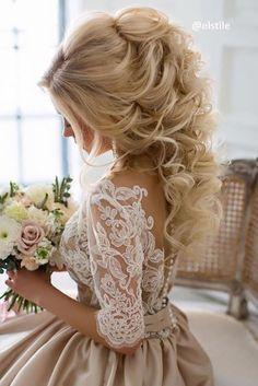 Best Wedding Hairstyle Trends 2017 ❤️ See more: http://www.weddingforward.com/wedding-hairstyle-trends/ #weddings #hairstyles