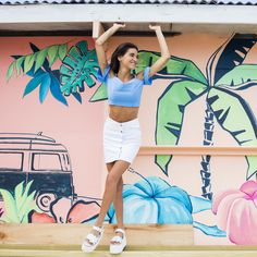 [ LOOK DEL DIA ]  Modelo: @milidiehl Ph. @lucarnevaleph  Styling: @petramartirena  Location: Costa Esmeralda  #SoydeGrecia #Fashion