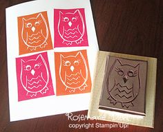 owl carved by Rosemarie Diehl