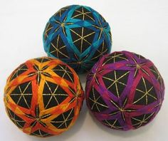 Temari is so incredible! Simply beautiful stitching on a sphere!