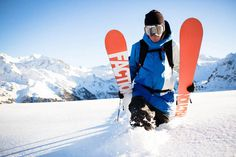 What It's Like to Descend a Mountain as One of the World's Best Skiers