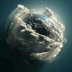 Earth in Cloud 9