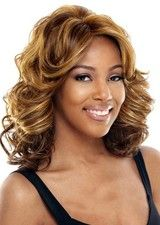 Noble Golden 14Inch Body Wave Lace Front Wig