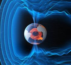 A Timelapse Of Our Planet's Surprisingly Turbulent Magnetic Field - Earth and Environmental Science, Geology Cosmos, Earth Science, Science And Nature, Earth's Magnetic Field, Polo Norte, Space And Astronomy, Sistema Solar, Space Travel, Outer Space