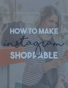 Have you seen those shopping bags on instagram photos? Wanna know how to add them to your posts? Let me teach you!