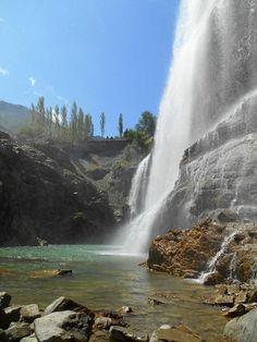 Tortum Waterfall Erzurum Turkey