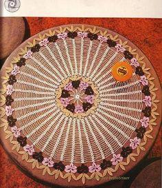 BethSteiner: Toalha com flor em crochê
