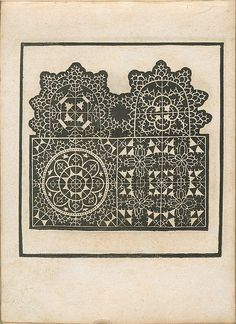 Eclectic historic science and art images from rare books and prints Needle Lace, Bobbin Lace, Lace Embroidery, Embroidery Designs, Drawn Thread, Lacemaking, Point Lace, Arte Popular, Antique Lace