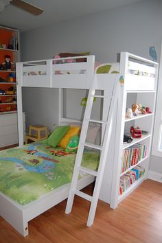 Loft bed for Wyatt | Do It Yourself Home Projects from Ana White