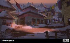 Overwatch - Nepal, Nick Carver on ArtStation at https://www.artstation.com/artwork/ZJr1w