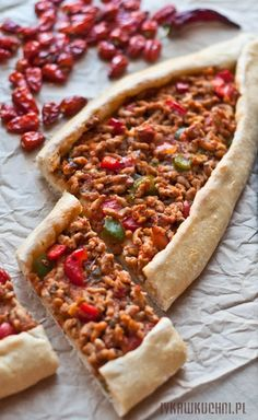 Ivka w kuchni - przepisy, fotografia i stylizacja kulinarna: Pide, turecka pizza Pide Recipe, Cheesesteak, Vegetable Pizza, Meat, Vegetables, Ethnic Recipes, Food, Fotografia, Lasagna