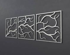 Image result for tryptic wall art laser cut