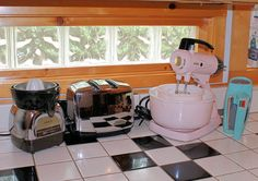 Juicer, Toaster, Mixers