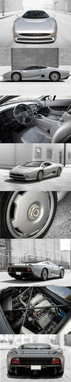 1993 Jaguar XJ220 / 542hp / 281 produced / $462.000 Sotheby's / UK / silver