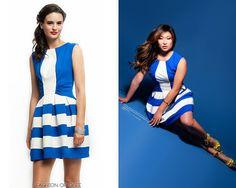 Jenna Ushkowitz appears in the April 2014 issue of Regard, April, 2014  Eva Franco Audrey Dress -   Worn with: Alejandra G sandals