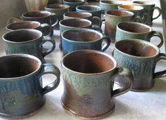Slab mugs?  Cynthia Spencer by Oregon Potters, via Flickr