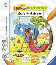 tiptoi® Erste Buchstaben tiptoi® Mein Lern-Spiel-Abenteuer: Amazon.de: Eva Odersky, Constanze Schargan: Bücher