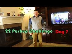 22 Pushup Challenge Day 7