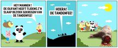 Hoera! Een nieuwe Jeroom-cartoon!