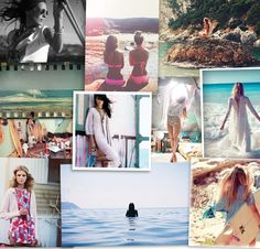 summer surf style  pinned from holierthannow.com