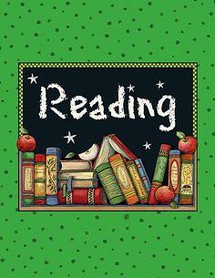 Reading Pocket Folder from Susan Winget