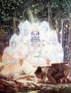Mushala Leela of Marek Buchwald Krishna Lila, Krishna Radha, Saraswati Devi, Hanuman, Lord Krishna Hd Wallpaper, Pagan Gods, Lord Krishna Images, Krishna Pictures, Krishna Painting