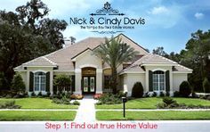 Hottest time to Sell! The first step would to see what your home is worth now. You can get your Home's Market Value Online For Free. Your Professional Evaluation Will Include... Prices and Details of Properties that appraisers, lenders and banks use in their valuations. http://www.searchallproperties.com/homevalue/nickdavis/Tampa+FL